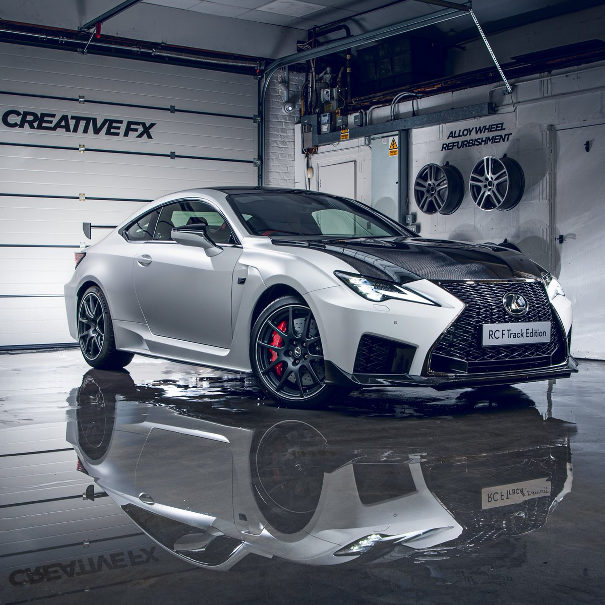 How did @CreativeFXWraps protect the unique paint finish on the one-off #LexusRCF Track Edition 'Hakuji'?