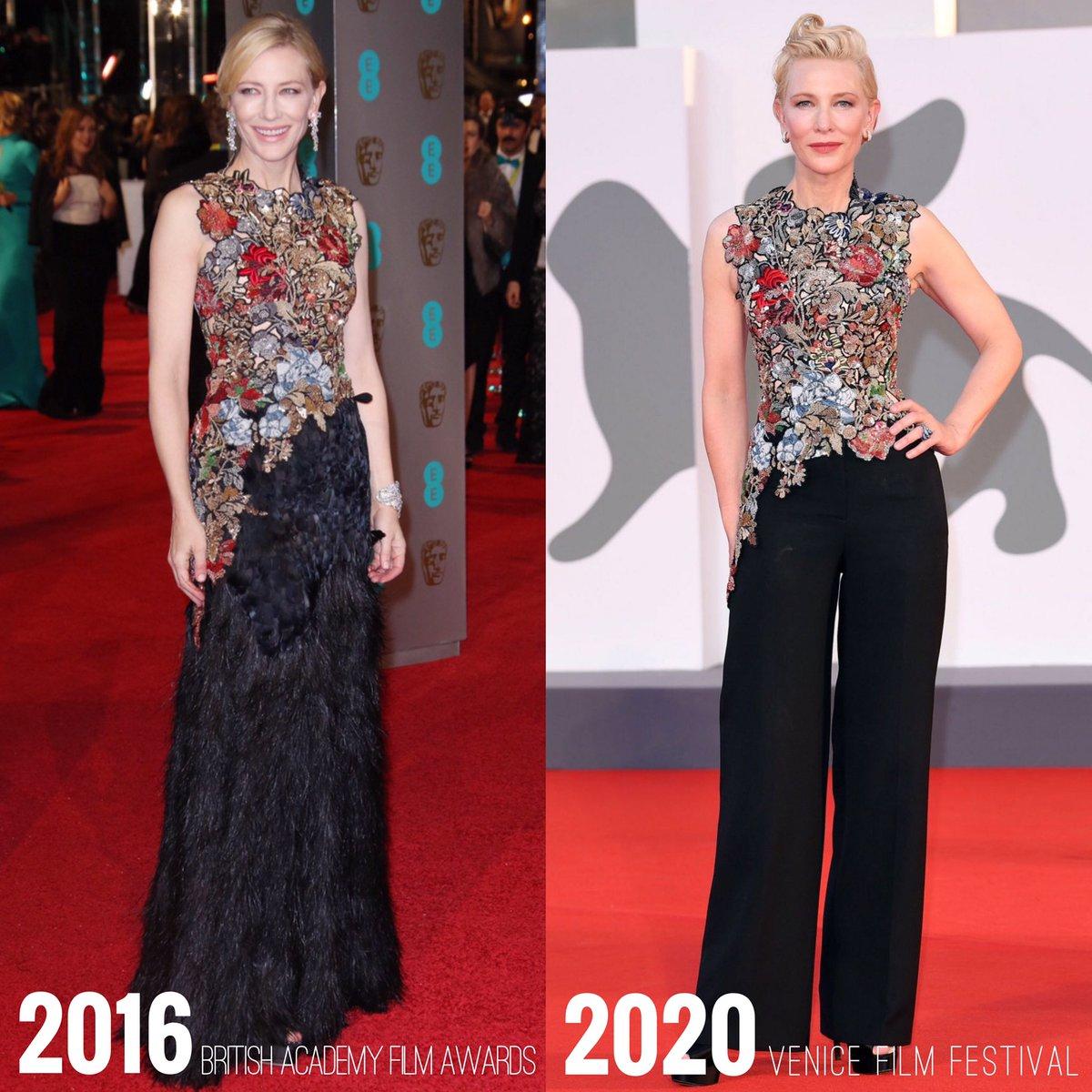 同じドレスは2度と着ない!?そんな固定観念を吹き飛ばし同じドレスを着るケイト・ブランシェット!