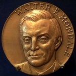 Image for the Tweet beginning: Walter F. Mondale's inauguration as