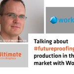 Image for the Tweet beginning: Must-read: Discussing #FutureProofing Print Production