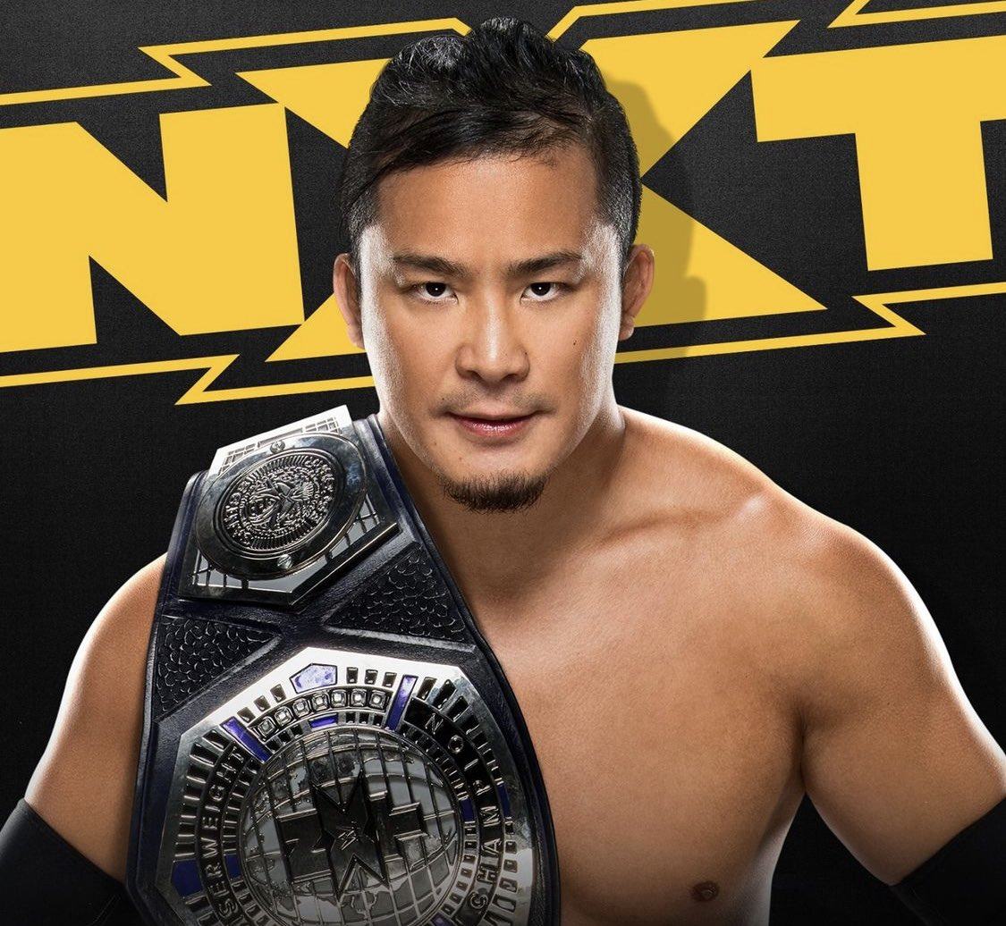 Tonight #WWENXT   @KUSHIDA_0904's NXT Cruiserweight Championship Celebration https://t.co/v7CyGbn8ZQ