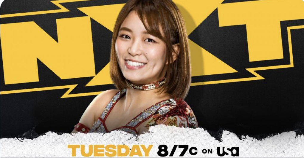 Tonight #WWENXT   @SarrayWWE's In-Ring Debut https://t.co/PilVKUgBR5