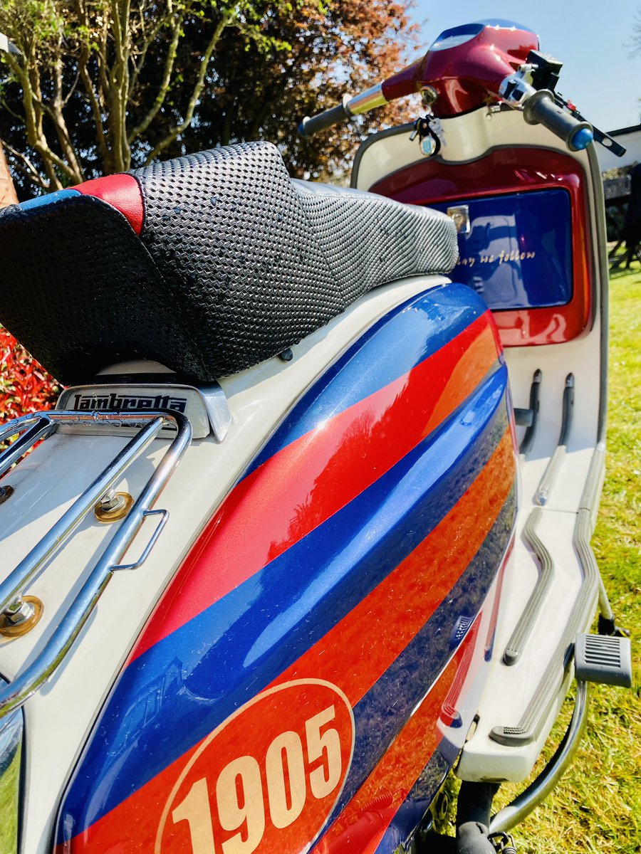 RT @tonyschokman: Sun's out... scoots out #Lambretta #CPFC https://t.co/Q7Eae7tDzF
