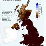 Image for the Tweet beginning: Has been an exceptionally dry
