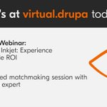 Image for the Tweet beginning: #virtualdrupa is here! 👋🙌 #ABrighterTomorrow  Don't