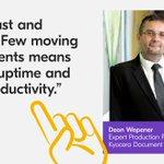 Image for the Tweet beginning: Deon Wepener live from virtual.drupa