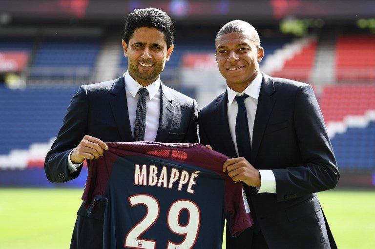 "FutbolArena on Twitter: ""🗣 Nasser Al Khelaifi: ""Mbappe, kesinlikle PSG'de kalacak!"" (El Chiringuito)… """
