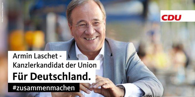 CDU: Kanzlerkandidat der Union.