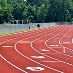 Image for the Tweet beginning: The HS track meet scheduled