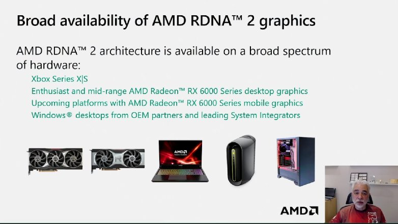 The only console with full RDNA 2 support