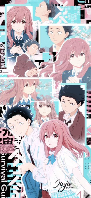 ❛  Koe no Katachi : 聲の形 ㅤを # Lockscreensㅤ· Rt e fav se salva