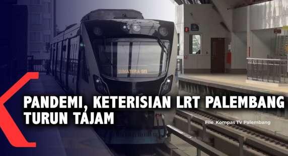 RT @KompasTV: Pandemi, Keterisian LRT Palembang Turun Tajam https://t.co/QnNKlfW753 https://t.co/VbrP2MgR8G