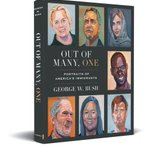 Image for the Tweet beginning: President Bush's new book, #OutofManyOne,