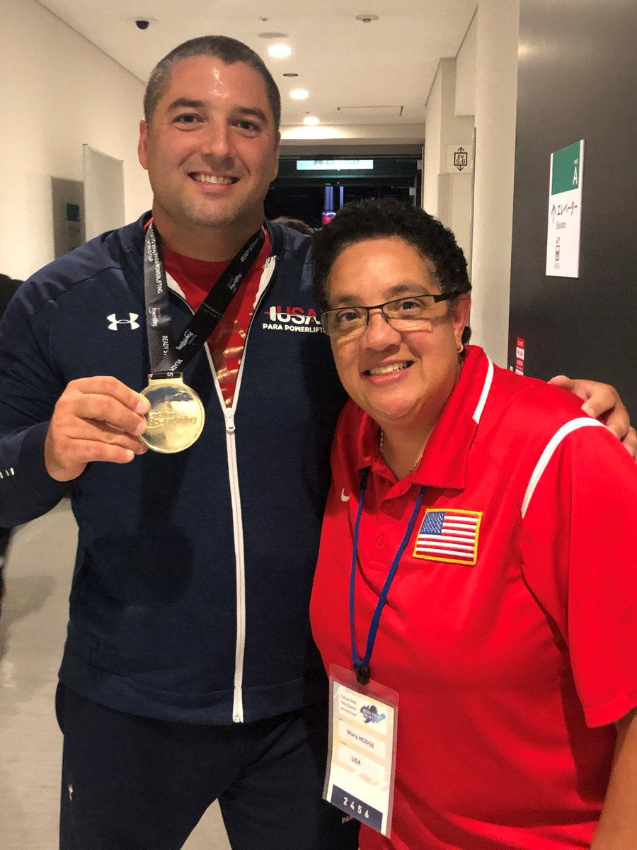 Check out this podcast episode with USA #ParaPowerlifting High Performance Manager Mary Hodge!