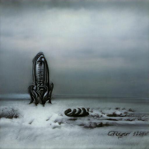 Big Sleep - H.R.Giger