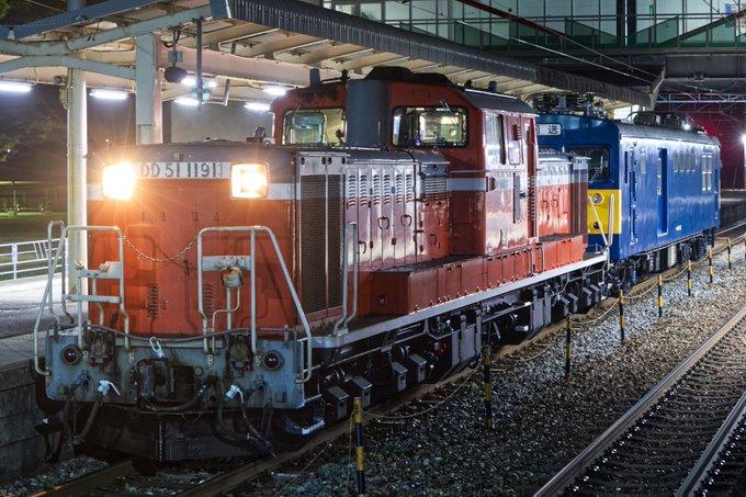 【415系廃車回送へ】DD51-1191・クモヤ145系ST52編成が金沢へ配給輸送