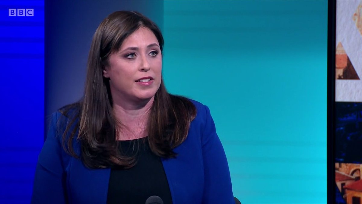 """Are you in favour of the two-state solution?""   ""I'm in favour of peace.""   @maitlis presses the Israeli ambassador to the UK, Tzipi Hotovely, on whether she believes in a two-state solution to the Israeli-Palestinian conflict   #Newsnight https://t.co/jqjkirmJIU"