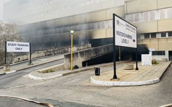 Stock lost in Charlotte Maxeke Hospital fire estimated at over R40 million