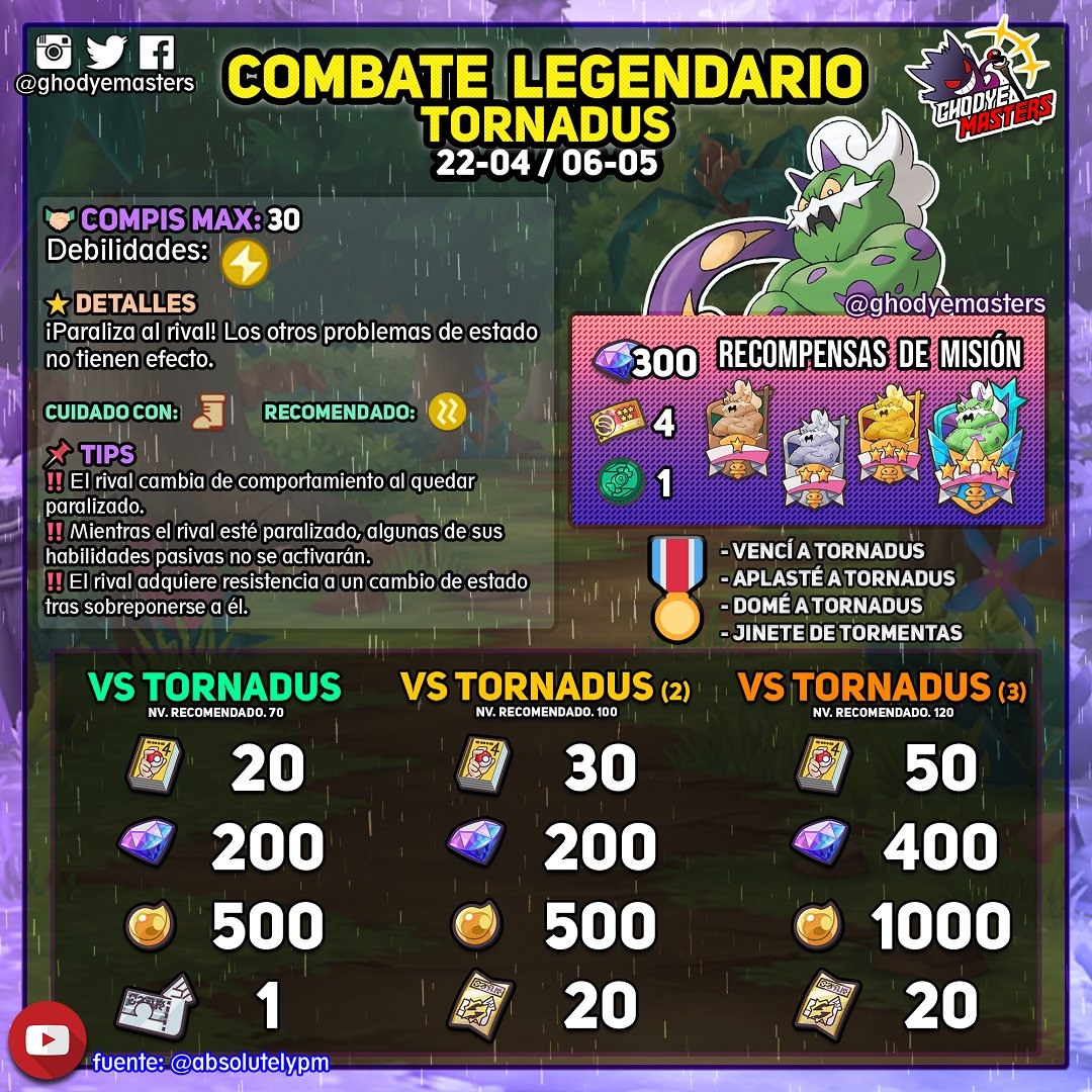 Combate Legendario VS Tornadus