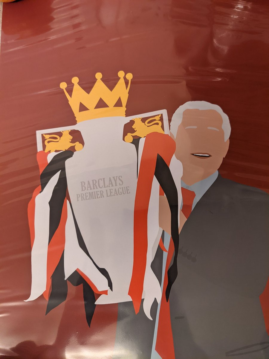 Big shout to the massively talented @dandesignsgb for what was on my doorstep this morning. Cheers mate! 👍 #GGMU #SirAlex #UnitedFamily https://t.co/GjPLxKrtyt
