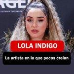 Image for the Tweet beginning: #lolaindigo, la artista en la
