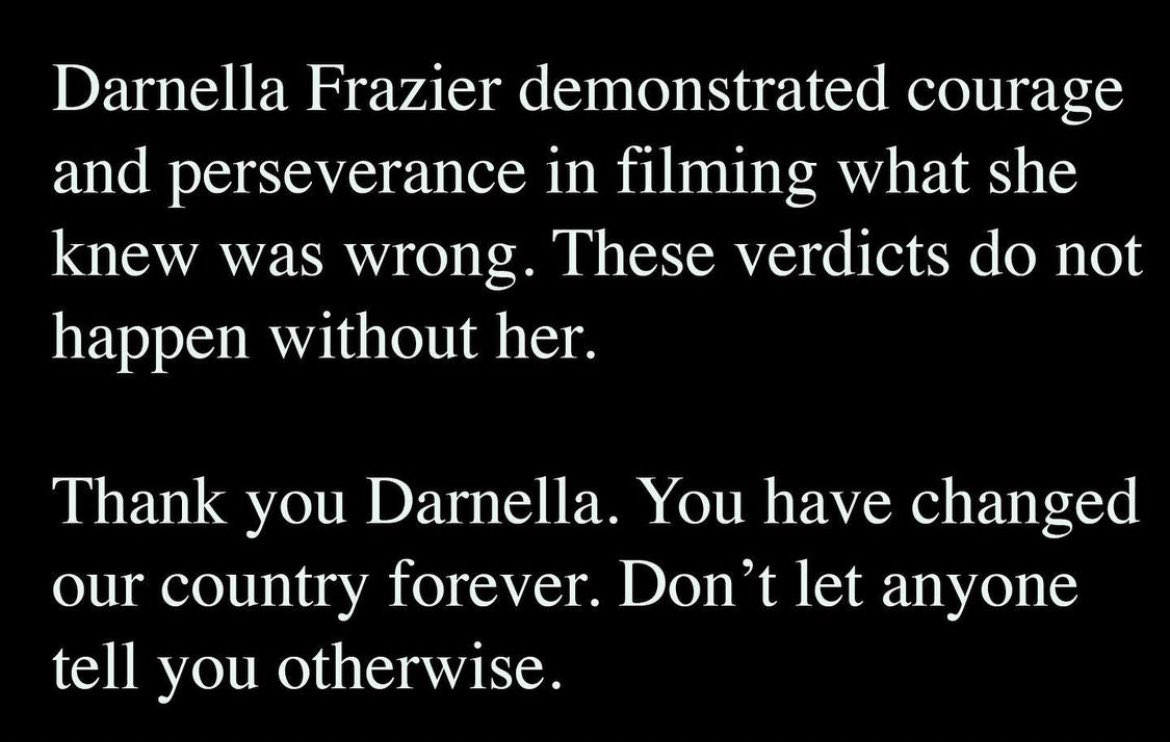 Protect Darnella Frazier at all costs https://t.co/H5bB7fC58r