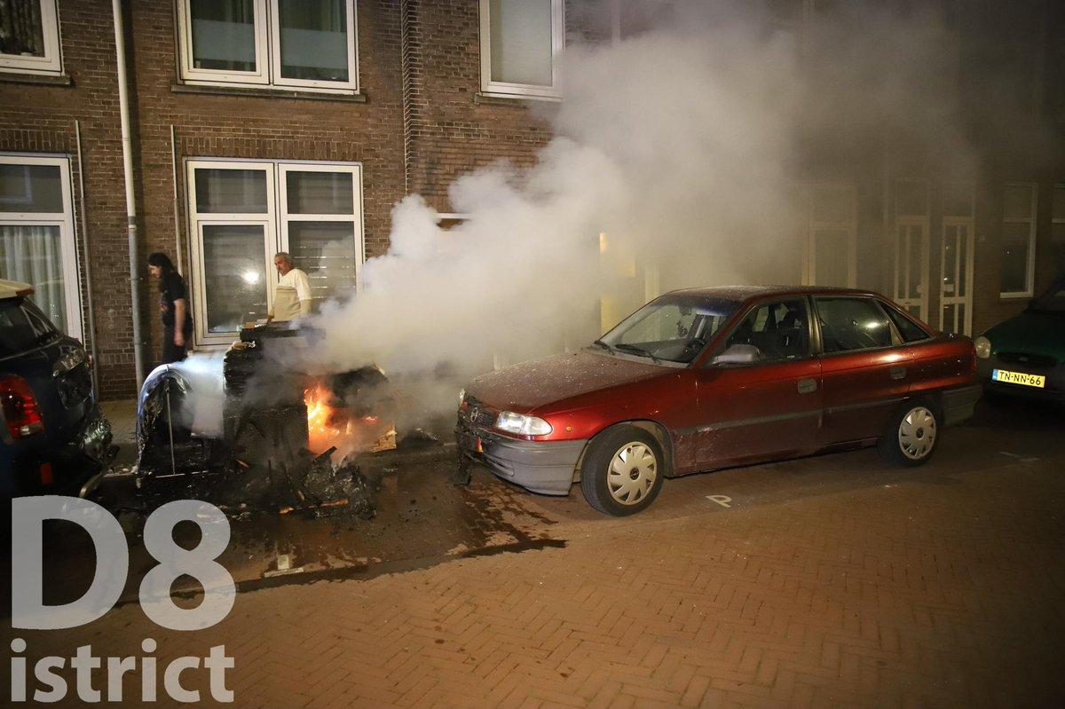 Melding brandweer Simonsstraat Delft
