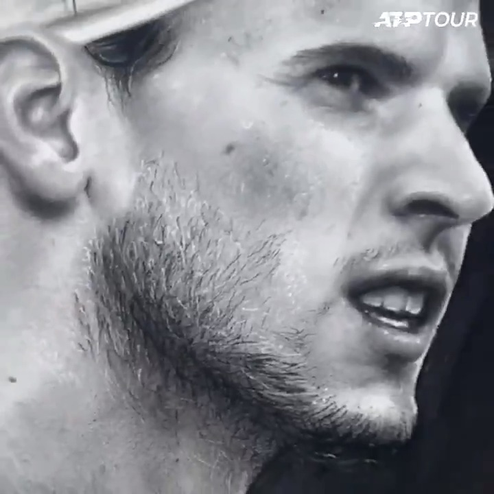 The Dominator 💪   An incredible illustration of @ThiemDomi by @NaiaHoard 👏 https://t.co/9pZAwpejBI