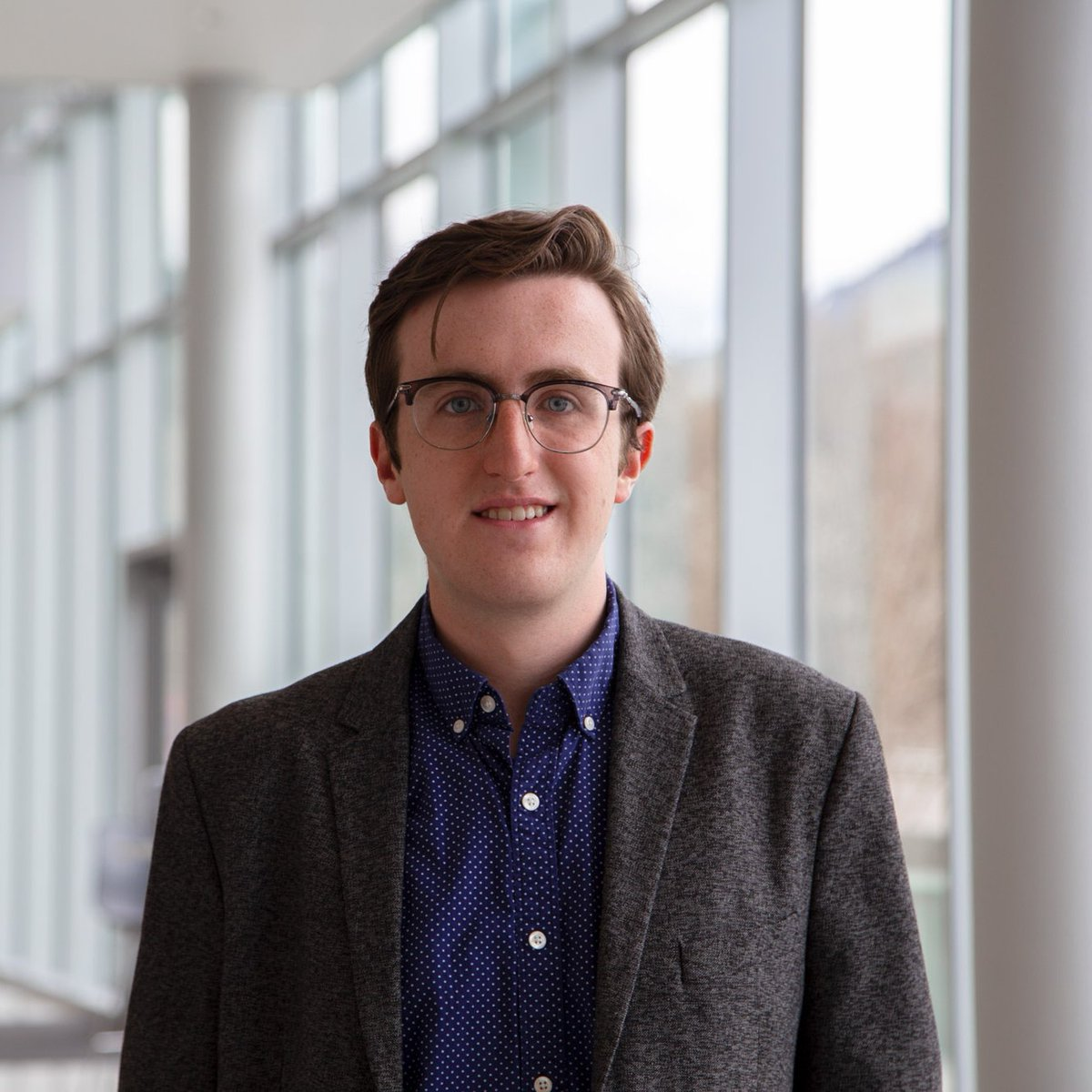 Meet Jackson, an electrical engineering master's student at USU! Jackson has had plenty of experience working in electricity — from internships to his work at @ASPIREerc  — and he hopes to use his skills to make a cleaner, greener world. #studentspotlight https://t.co/T3jW44MuWR https://t.co/VvVUUwOvfa