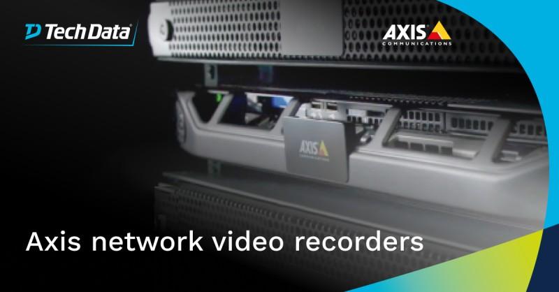 Een Axis netwerkvideorecorder (NVR) biedt een…