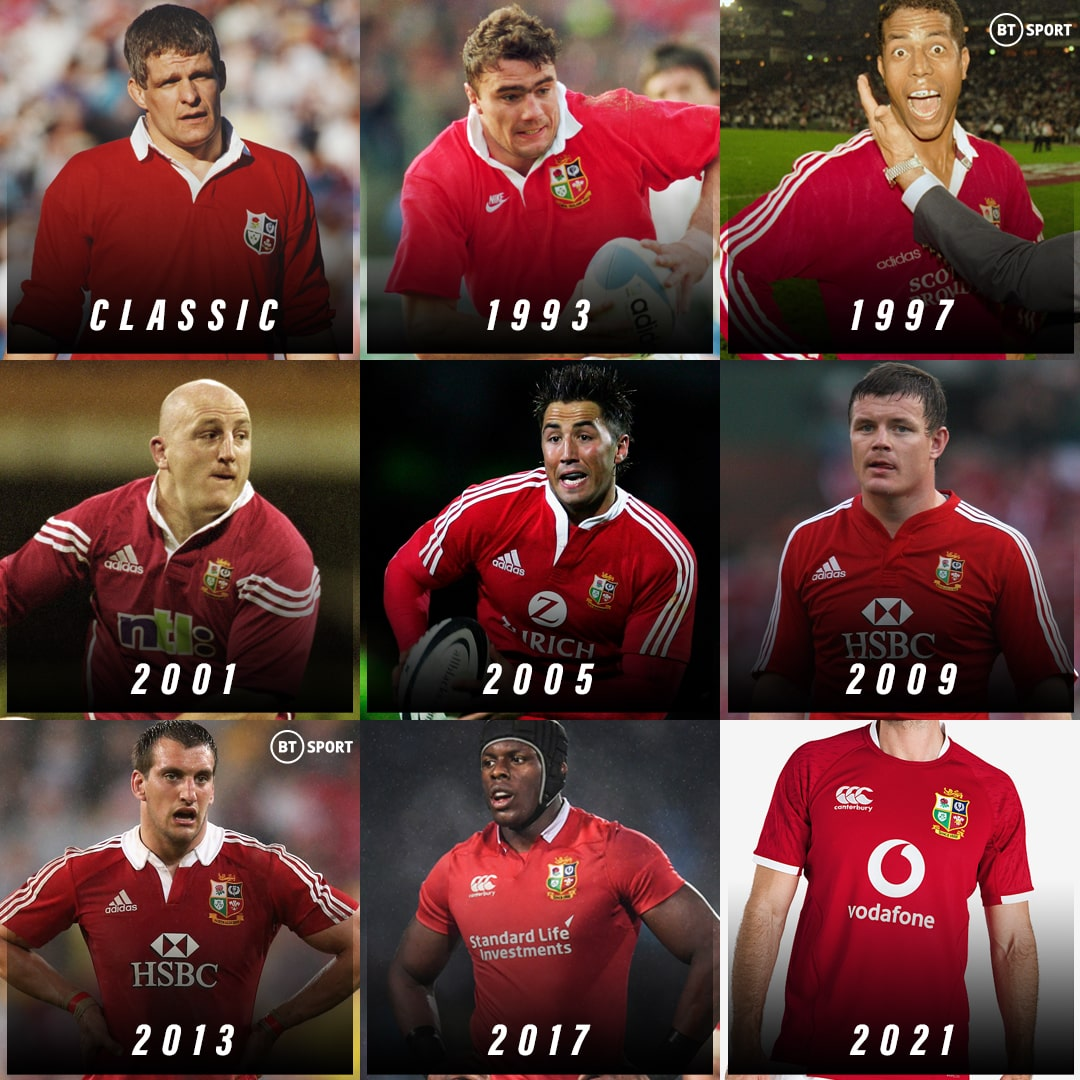 test Twitter Media - Since the new one was launched today...  What is the best British and Irish Lions jersey of all-time? 🦁  (They didn't change much before the 90s 👀) https://t.co/SXWggbzWgN