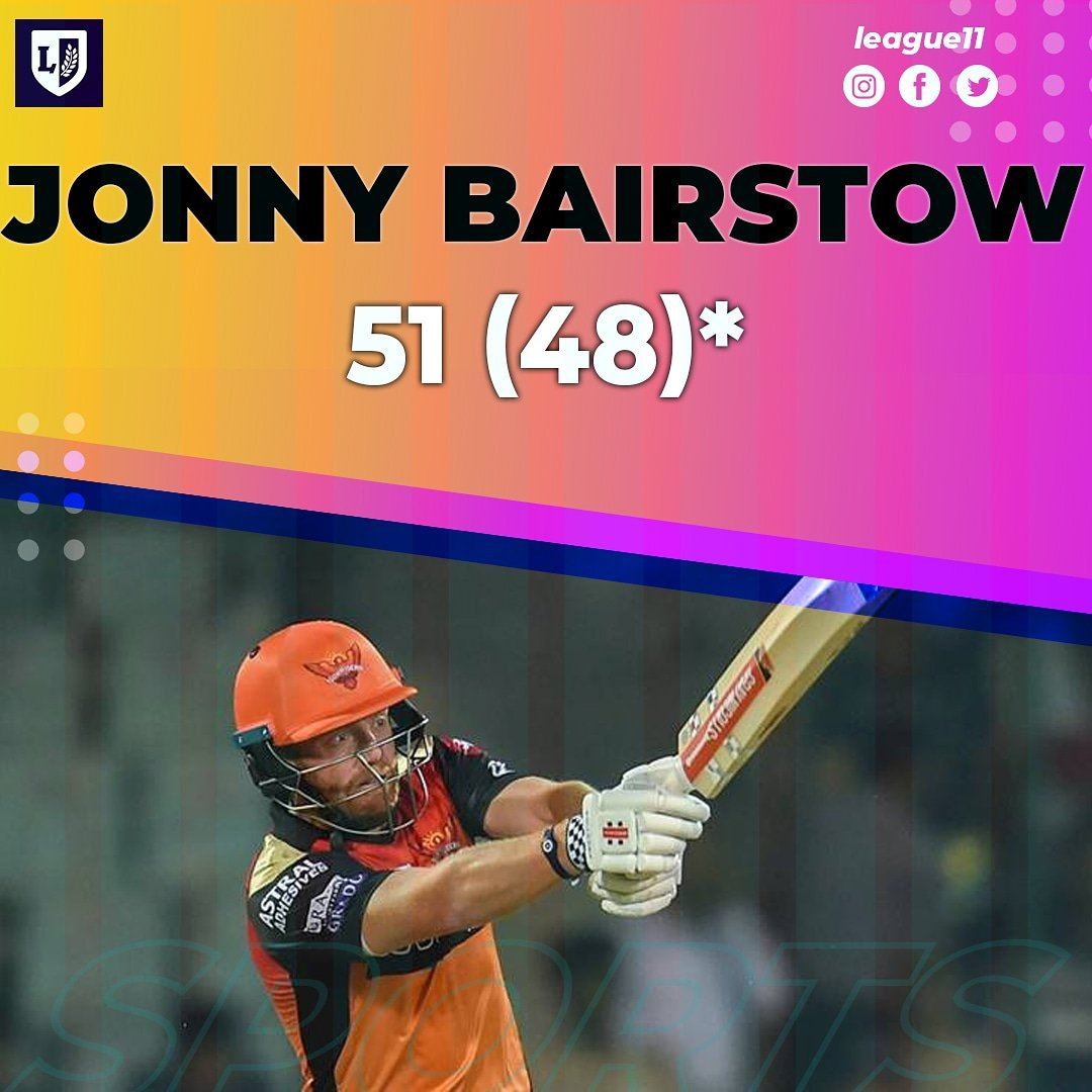 Jonny Bairstow is the Player of the Match.