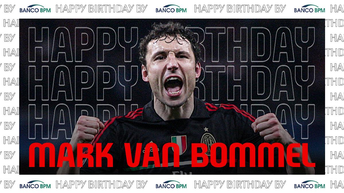 Wishing all the best to @MarkvanBommel6 on his 44th birthday 🥳  Tanti auguri al Generale van Bommel! 🎖️   #SempreMilan   @BancoBPMSpa https://t.co/DPRwniWgzR