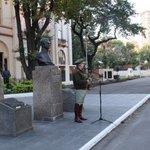 Image for the Tweet beginning: Hoy recordamos en la Plaza
