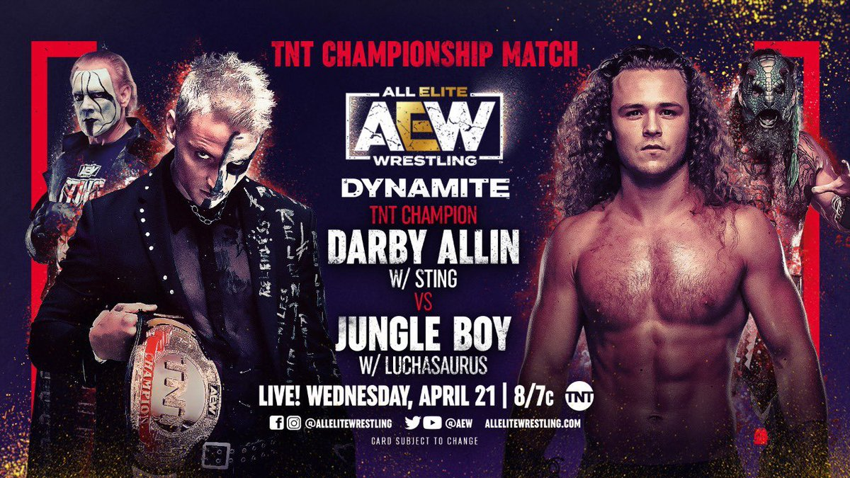 AEW Dynamite Results - April 21, 2021
