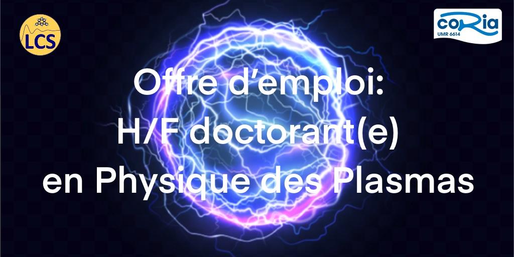 👩🔬👨🔬#OffreEmploi: H/F Doctorant(e) en Physique des Plasmas  Sujet: CARACTERISATION PAR LIBS PICOSECONDE ET PAR SPECTROSCOPIE INFRAROUGE DU STOCKAGE D'#HYDROGENE DANS LES #ZEOLITHES ▶️https://t.co/cIGh1AaNcH @INC_CNRS @ENSICAEN  @Universite_Caen @Reseau_Carnot @Carnot_ESP  @CNRS