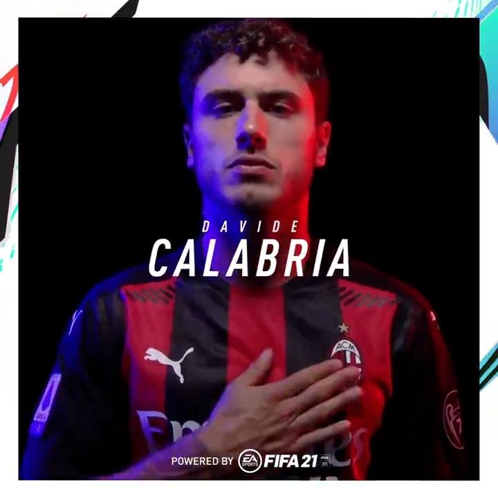 #MilanSassuolo: our line-up 🏟️  Calabria starts on the right 💪 @davidecalabria2 rientra ed è subito titolare 🔴⚫  #SempreMilan  @EASPORTSFIFA https://t.co/YLIXcUm3PQ