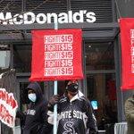 Image for the Tweet beginning: Restaurant chains slammed over resistance