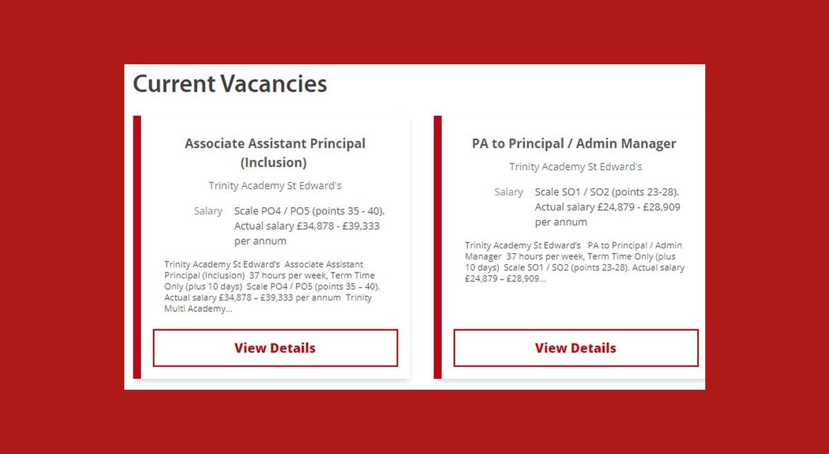 ⭐️ Want to work in our NEW #Barnsley school? We're incredibly excited to build an outstanding team of teachers ready to inspire our pupils in September!  ❤️ We're currently #recruiting for an Associate Assistant Principal & PA to our Principal 🔗 https://t.co/nQ4Eo806r2