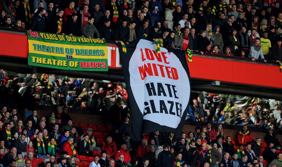 We don't care what he had to say. Green and Gold until it's sold. #GlazersOut https://t.co/oqBk9STY6K