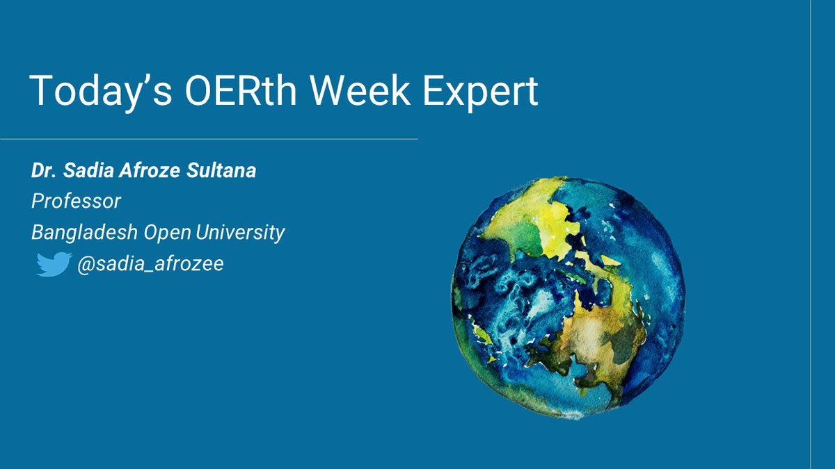 Happy #OERth week from #NCOER!   #OpenEd #OpenEducation #OER #EarthWeek #EarthDay2021