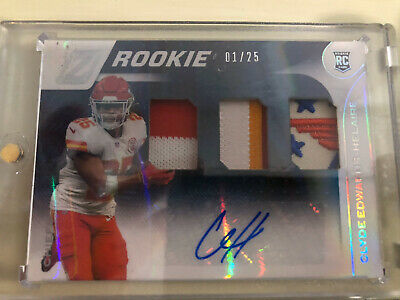 2020 CLYDE EDWARDS-HELAIRE Zenith RPA Triple Patch Auto 1/25 Rookie Chiefs Patch https://t.co/QlGLQ4iFMy eBay https://t.co/HLSJJYQibc