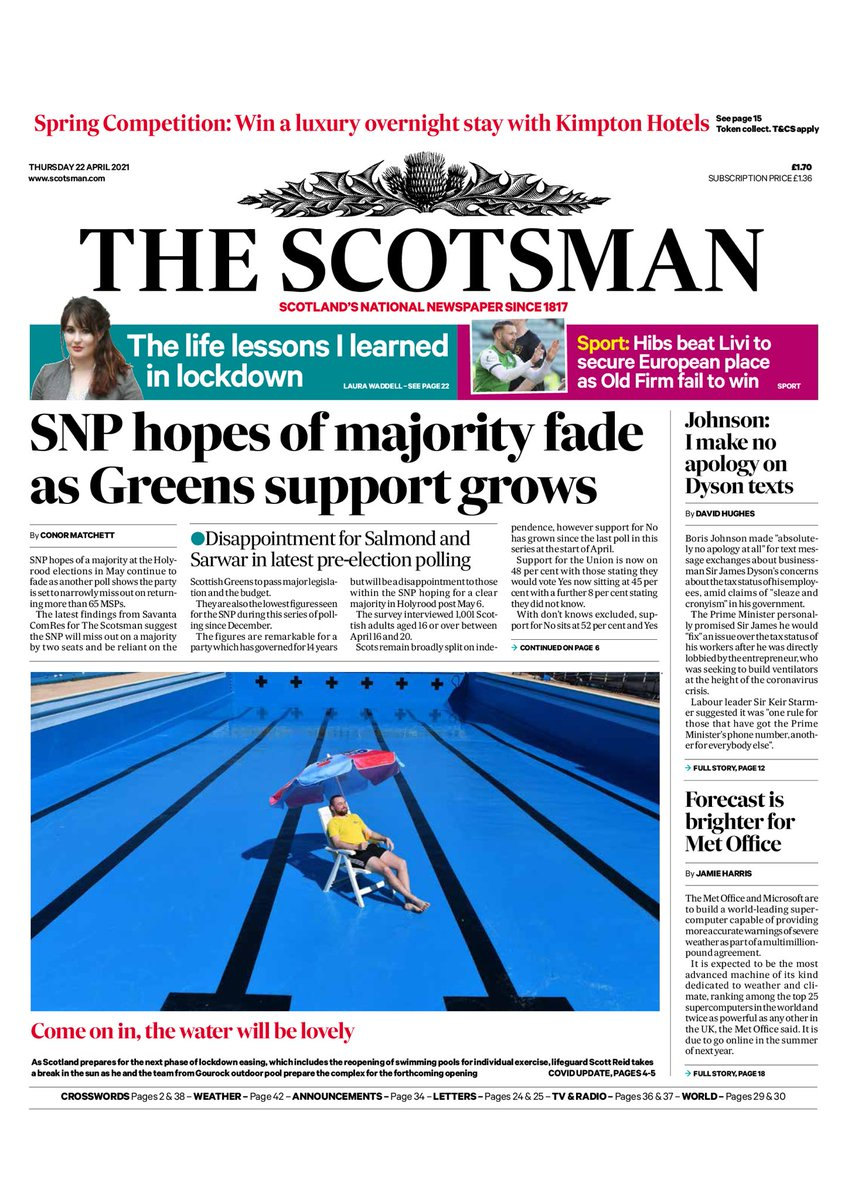 Full poll coverage in tomorrow's @TheScotsman and online from 7am https://t.co/6DNy0zIZyd