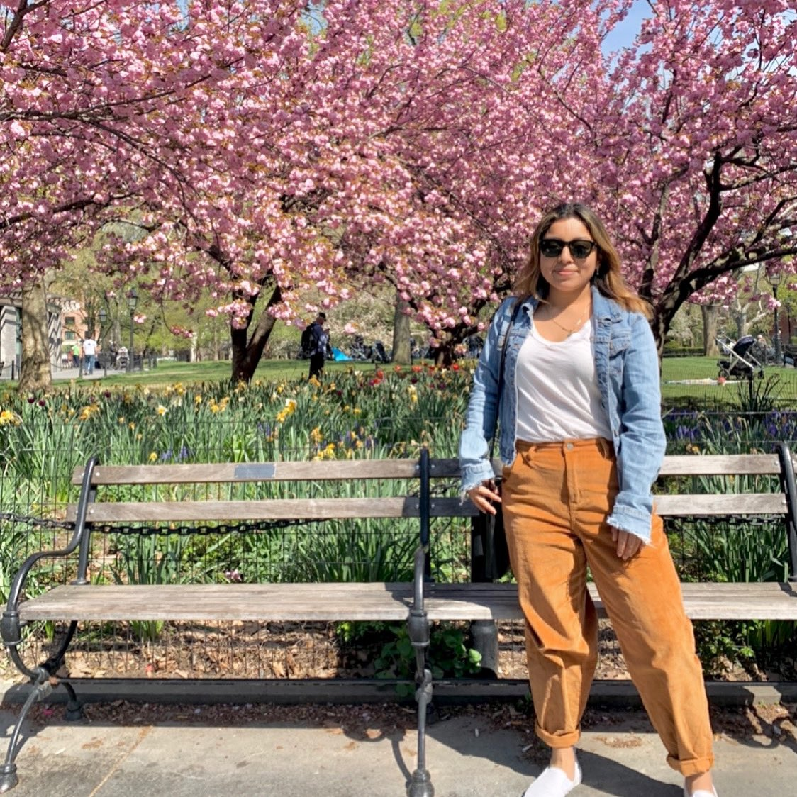 Since it made to the gram it might as well go here as well 😊 #nyc #washingtonsquarepark #spring https://t.co/tLCeyDgE4V