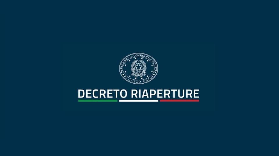 Decreto riaperture 26 aprile 2021