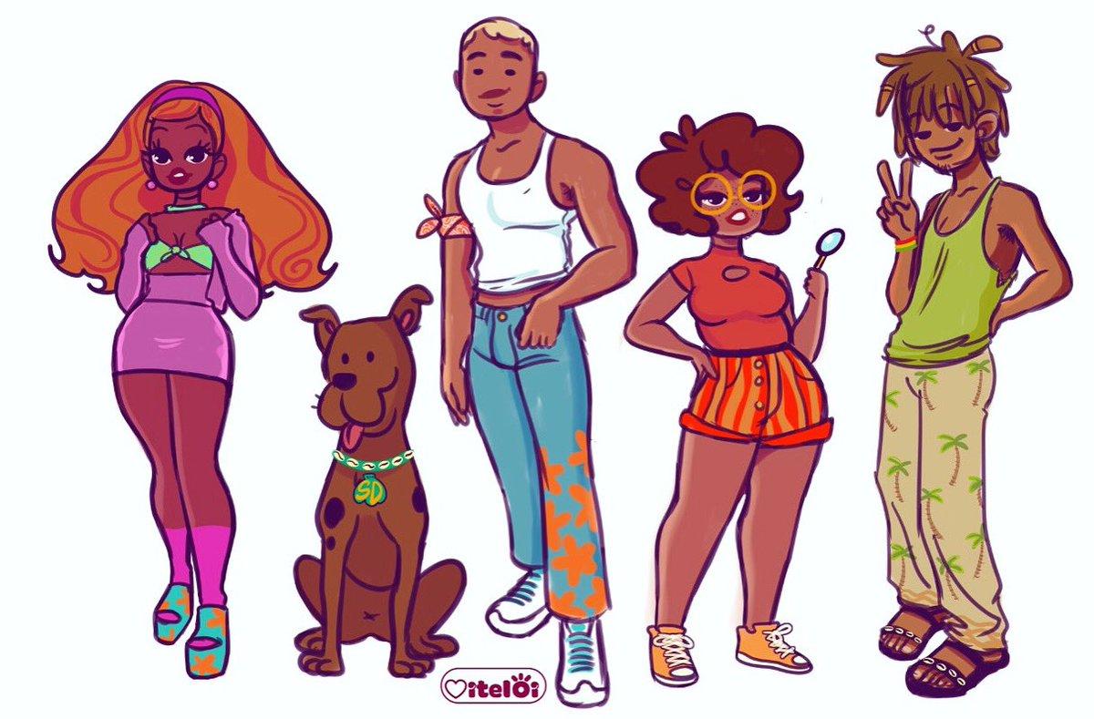 RT @viteloii: Scooby Doo Gayng 🔍👣🥰 https://t.co/NdcMvpDulb