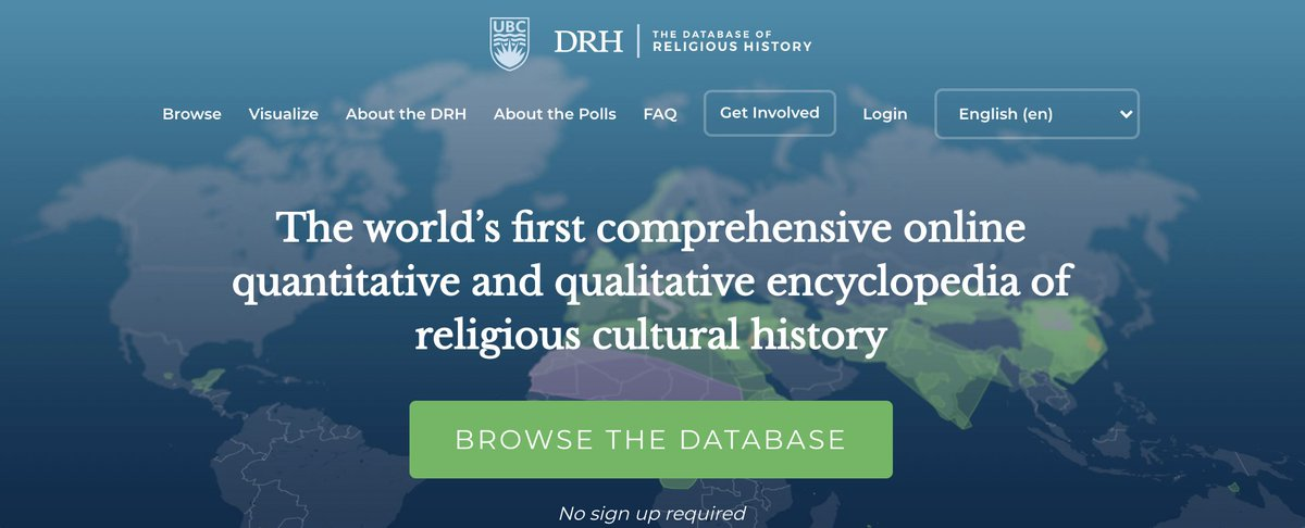 """The Database of Religious History as an Online Resource for Archaeology"" #archeology #DigitalHumanities"