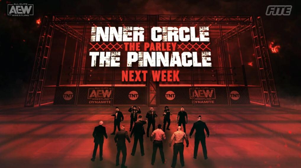 Inner Circle – The Pinnacle Parlay Set For Next Week's AEW Dynamite
