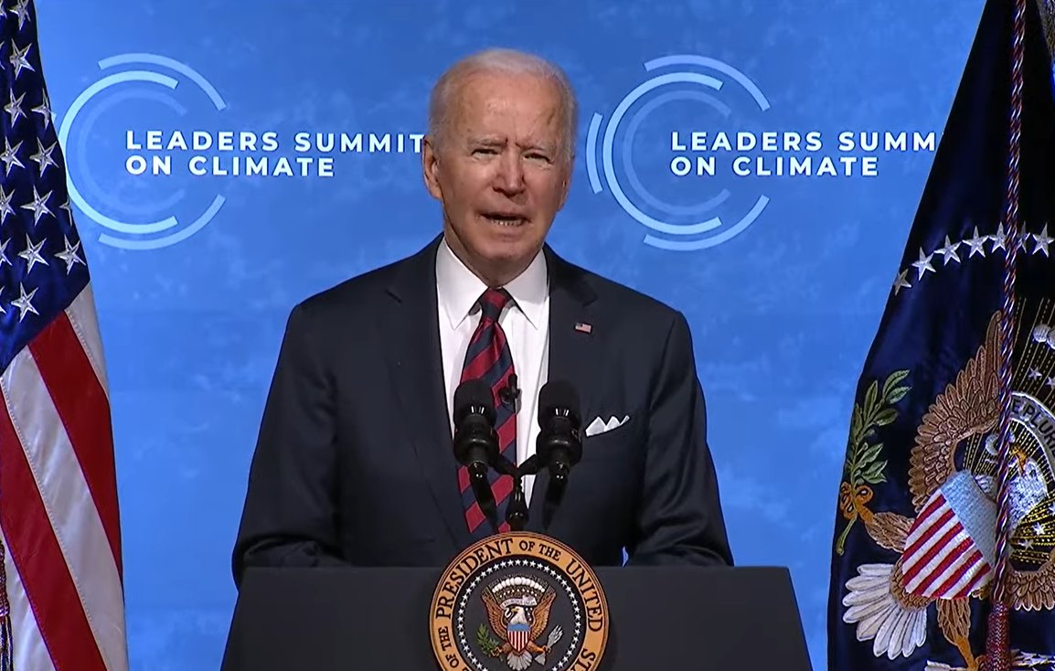 .'This is the decisive decade says  @JoeBiden 'This is the first step to Glasgow COP'We have to take action - all of us'Each country can set higher climate ambitions..... and then comes  @ScottMorrisonMP - no net zero by 2050- no higher goal for 2030- no ambition  #auspol