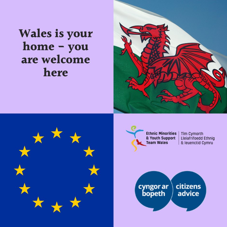 RT @eystwales: Wales is home to everyone - EU citizens are welcome here! 🤝🏽 @CABCymru https://t.co/PlRRZ2FkJS